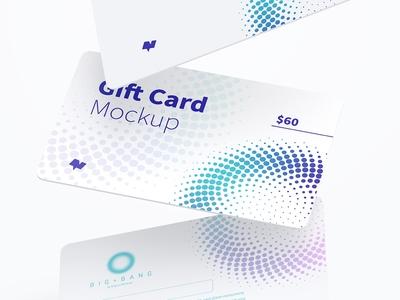 Gift Card Mockup 02
