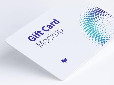 Gift Card Mockup 07