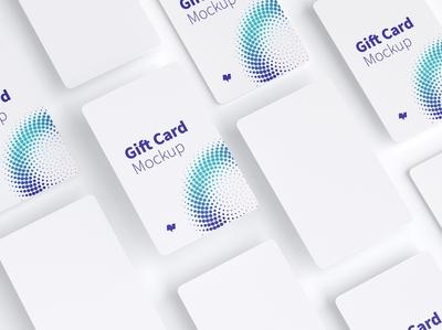 Gift Card Mockup 09