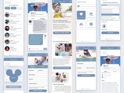 Disney Parent - Child Care App