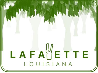 Lafayette, LA Sticker