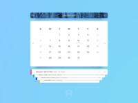 Daily UI Challenge 038: Calendar