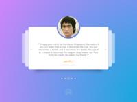 Daily UI Challenge 039: Testimonials