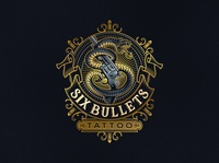 Six Bullets Tattoo
