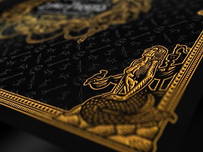 Lying Pirates / Box Detail I illustration mermaid design packaging fun pirate board game