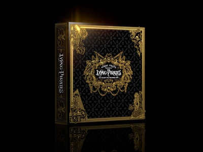 Lying Pirates / The Complete Edition Box board game dice game premium pirate design packaging