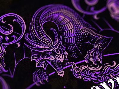 Wizards of the Coast - Employee Handbook II design fun game wiards magic fantasy arwork illustration dragon