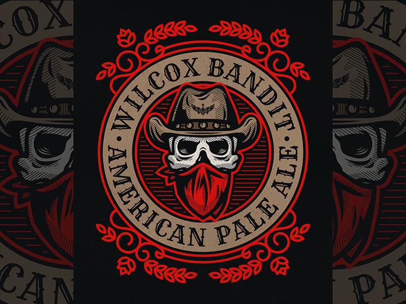 Wilcox Bandit / 1 skull beer bandit outlaw