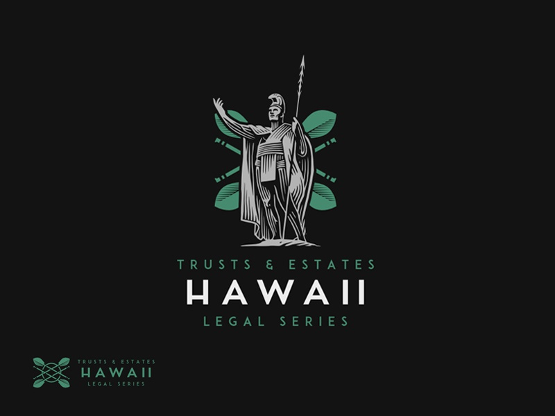Hawaii Legal Series Logo legal hawaii illustration logo law