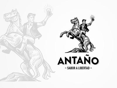 Antaño Logo