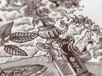 NGS artwork / detail II