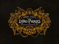 Lying Pirates  / Logo