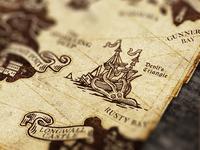 Lying Pirates / Map Detail I
