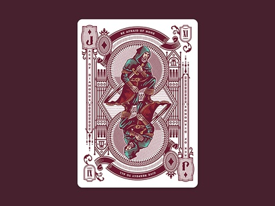 Stories / Jack of Diamonds vintage creative jack design game cards playing cards illustration