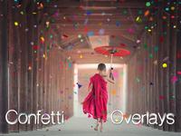 Confetti Overlays