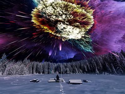 Explosive Colors Overlays