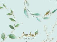 Branches & Splatters Kit