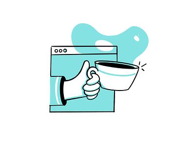 coffeechat procreate chat coffee