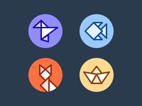 Origami Avatars