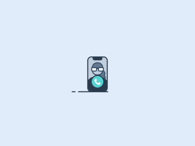 Call call iphone x icon