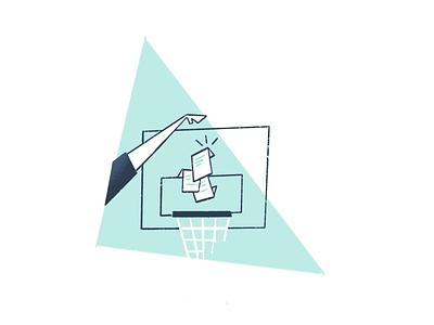 Slam dunk your paperwork paperwork slam dunk