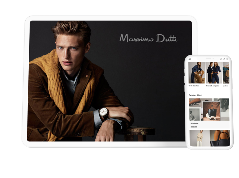 Massimo Dutti Featured Project app animation illustration minimal branding photography identity design digitalmarketing ux ui design