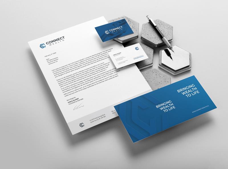 Branding Connect Wealth animation ux ui design digitalmarketing brand strategy identity branding and identity brand design branding