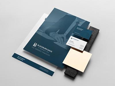 Blackburn Davis Financial - Rebranding blackburn davis financial typography illustration logo minimal branding identity design brand strategy