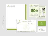 Natura Health stationary design