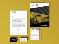 JGB Tires Sales - Brand identity