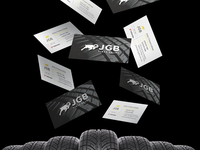 Business cards-JGB Tires Sales