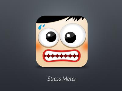 Stress Meter App Icon