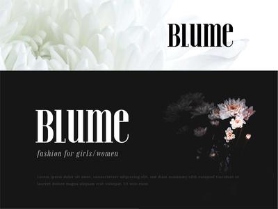 Blume Logo