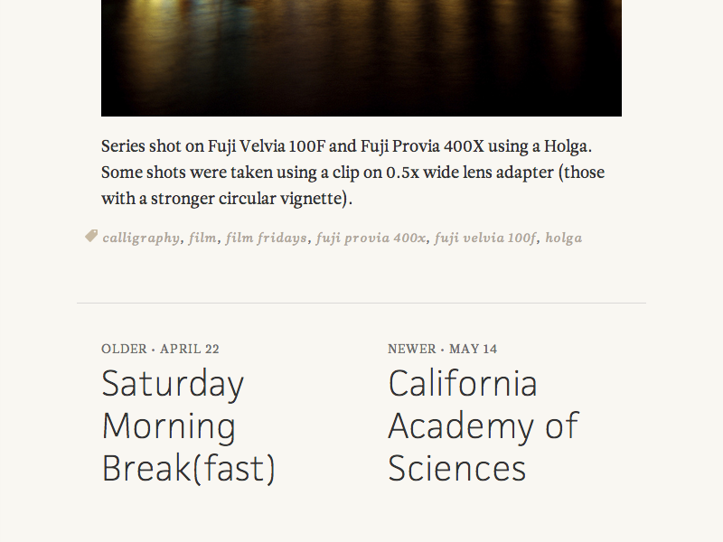 older   newer (M) typography type web typekit website blog jaf facitweb leitura news tablet
