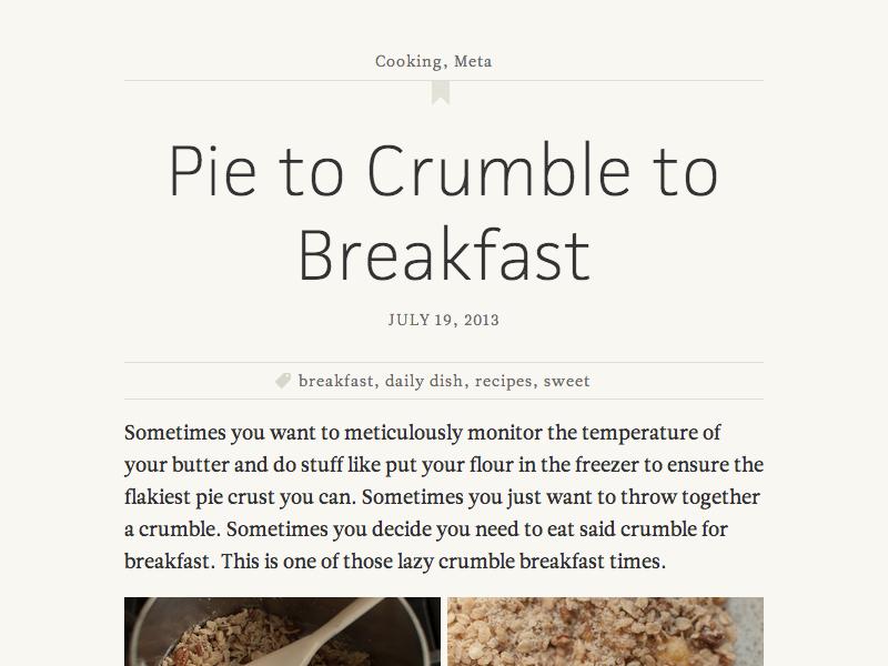 blog entry title design (M) typography type web typekit website blog jaf facitweb leitura news title design