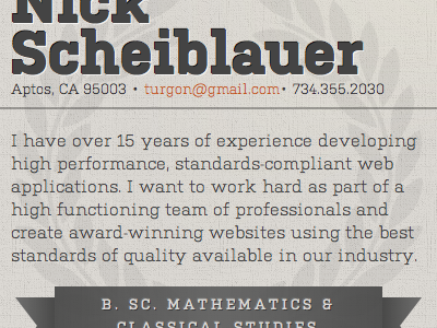 Scheiblauer resume