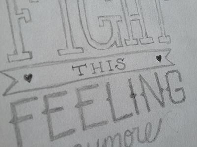 valentine sketch (feeling)