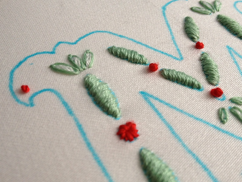 M embroidery begun lettering embroidery m monogram fabric
