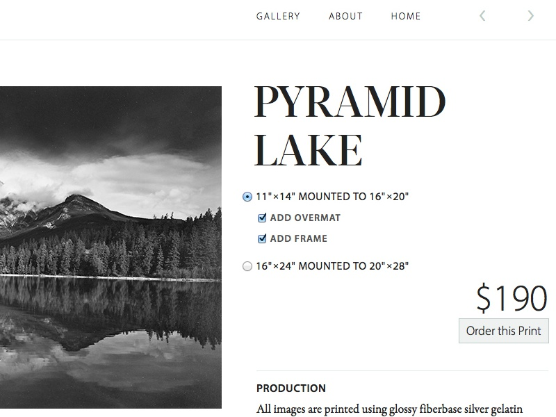 Pyramid Lake typography type dokas photography garamond premier pro myriad pro acta display didone black and white photography minimal