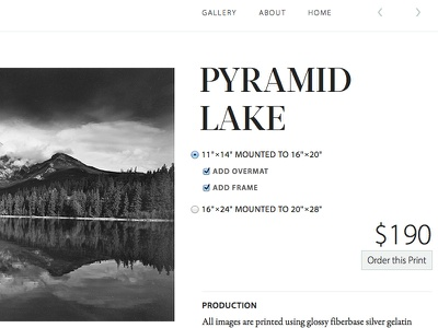 Pyramid Lake typography type dokas photography garamond premier pro myriad pro acta display didone black and white photography minimal