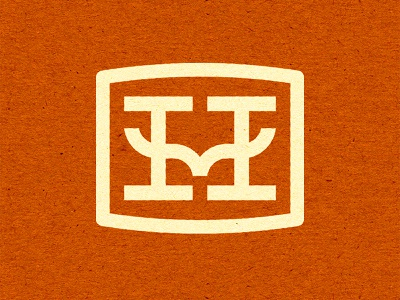 Handlebar Co. Logo Design shaving mustache grooming logo