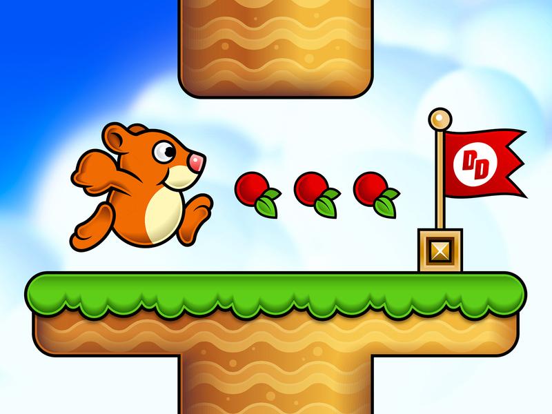 Danny Dasher Game game design hamster app game