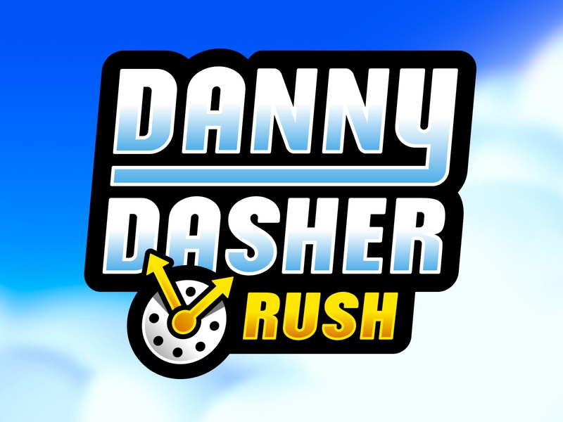 Danny Dasher Title by RA Design on Dribbble