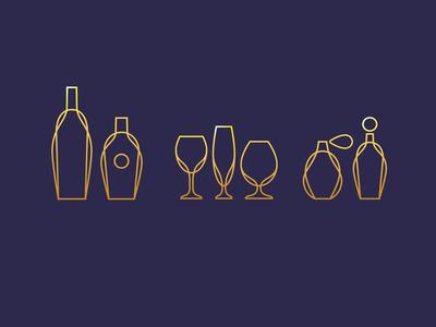 Glassware Icons