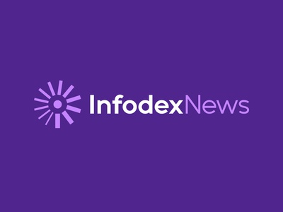 Infodex News Logo Design