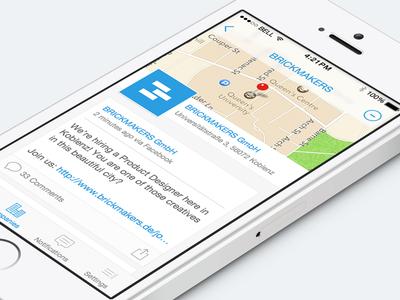 Startapp for iOS 7