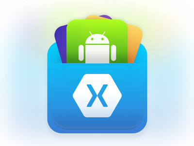 Xamarin Bag microsoft windows ios gradients sketch bag android xamarin