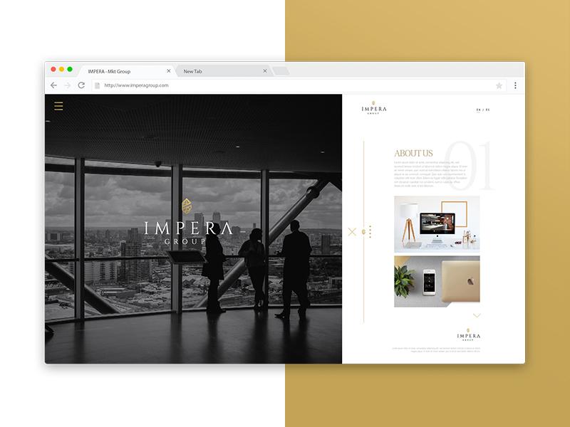 Ui web concept