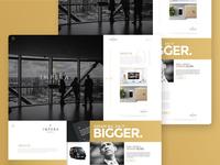 UI Web Concept | Landing Page |