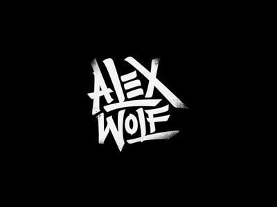 Alex Wolf - Logotype